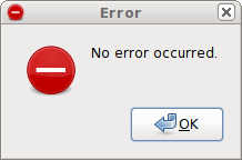 Error: No error occurred.