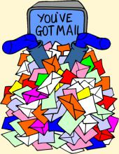 You've got way too much mail
